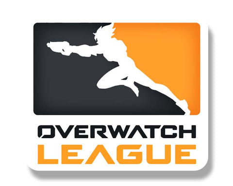 Overwatch League Text Sticker