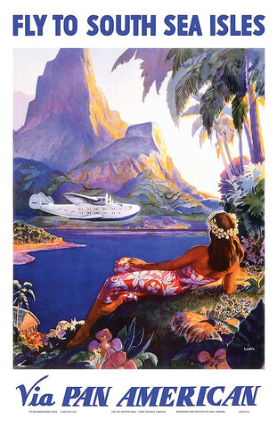 Fly Pan Am Poster
