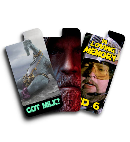 Starwars iPhone vinyl skin 3 Pack