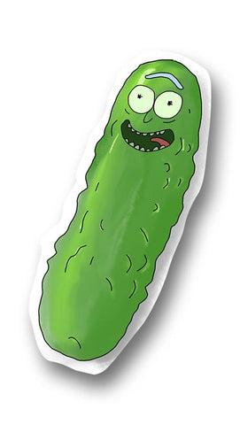 Rick and Morty Pickle Rick Sticker
