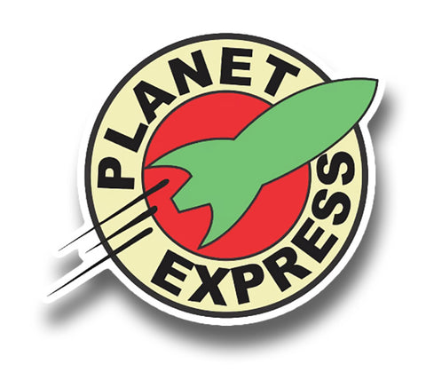 Futurama - Planet Express Sticker