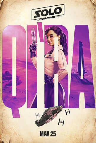Qira Movie Poster, Solo