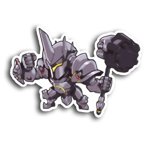 Overwatch Reinhardt Sticker