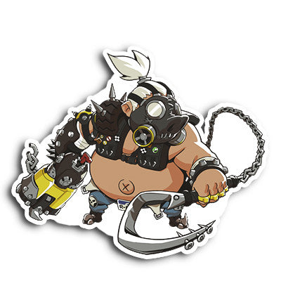 Overwatch Roadhog Sticker