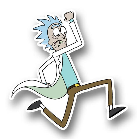 Run Rick Sticker