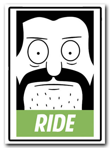 Bobs Burgers Critter Sticker - Ride