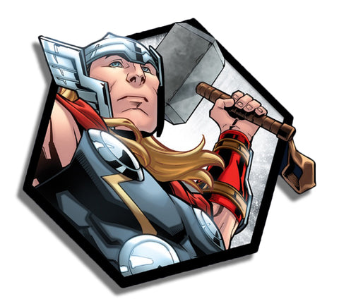 Thor Hexagon Sticker