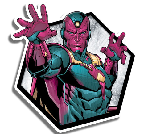 Vision Hexagon Sticker