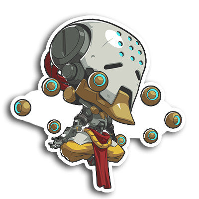 Overwatch Zenyatta Sticker