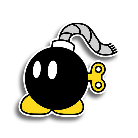 Mario Bobomb Sticker