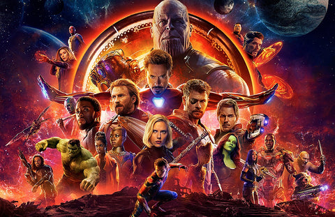 Infinity War movie Poster