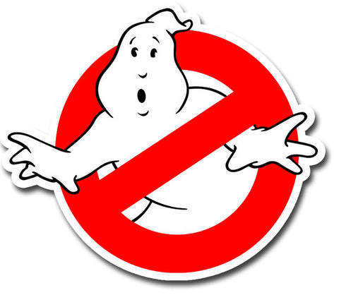 Ghostbuster 3M No Ghost Sticker