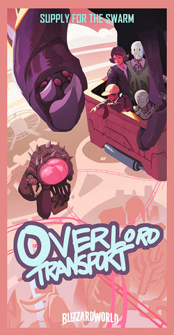 Overlord Transport Poster
