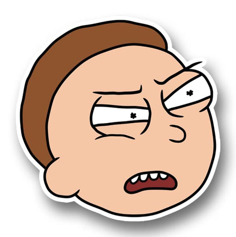 Rick and Morty, What Morty Head Sticker