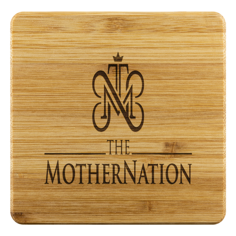 The MotherNation Bamboo Coasters