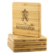 Load image into Gallery viewer, The MotherNation Bamboo Coasters