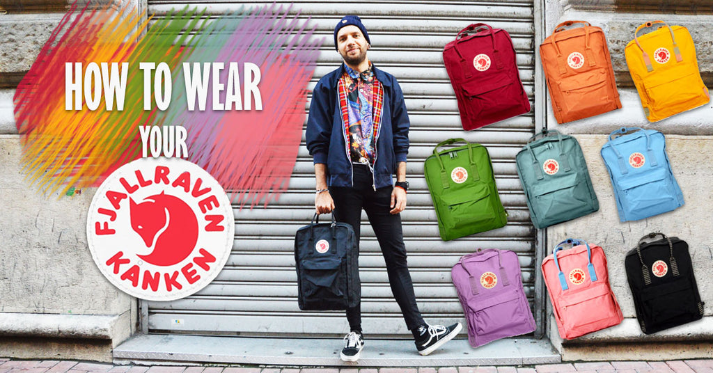 outlet online shop best sellers authentic This is how you should wear your Kanken! – Vintage ...