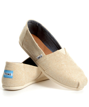 TOMS Classic - Natural Metallic