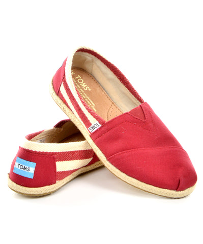 TOMS Classic - Red Stripe