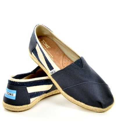 TOMS Classic - Navy Stripe