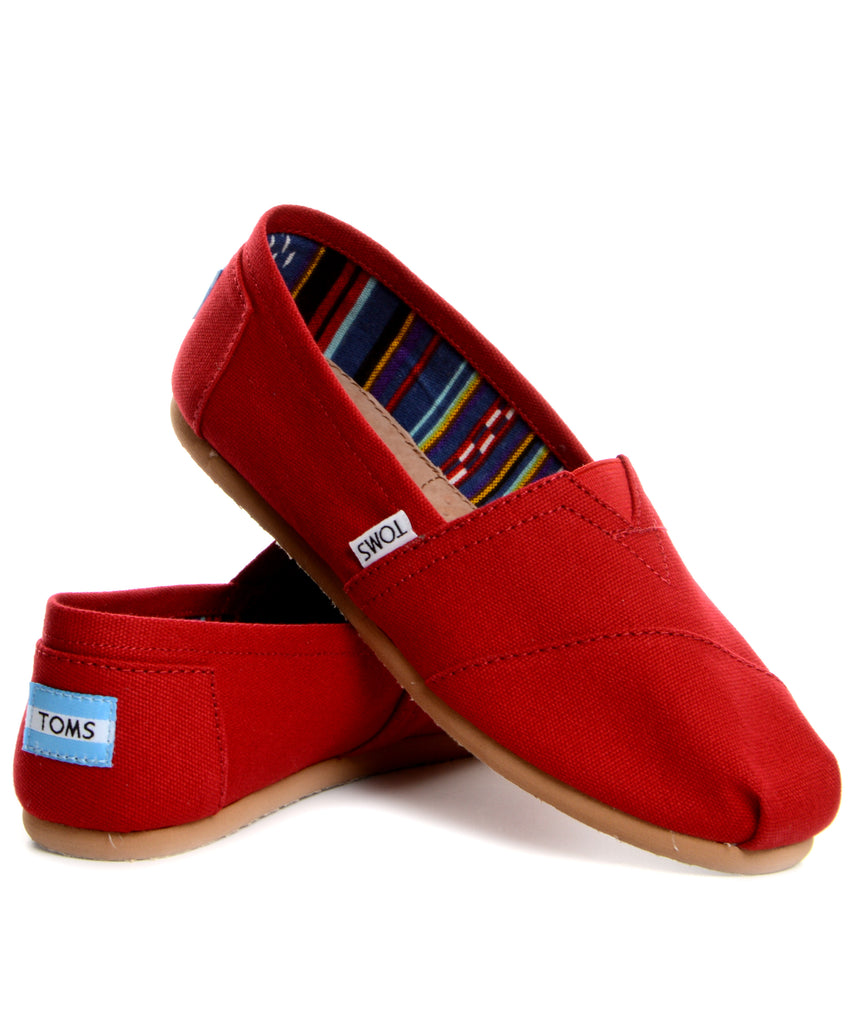TOMS Classic - Red
