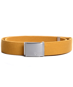 Fjallraven canvas belt ochre sárga öv