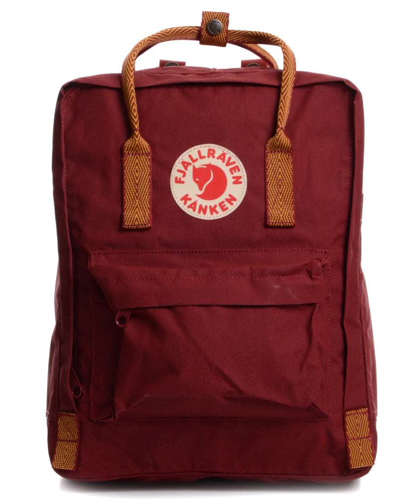 Fjallraven Kanken - Ox Red-Goose Eye