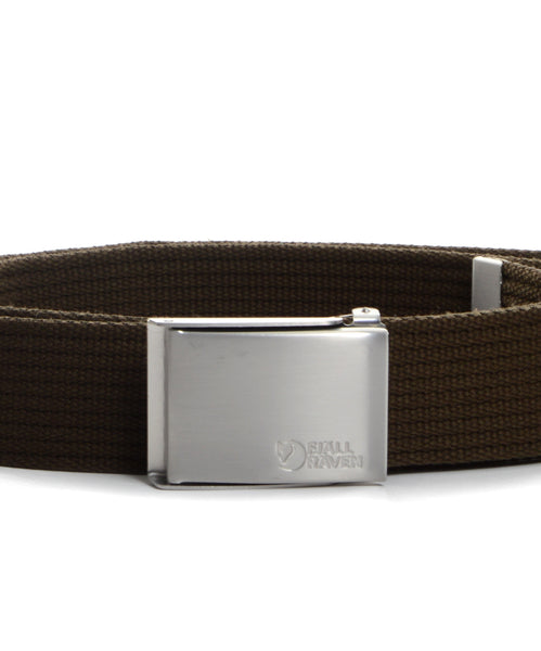 Fjallraven Merano Belt - Dark Olive