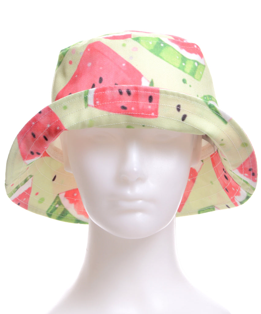 871515e84a9 Bucket hat - Watermelon – Vintage   Contemporary Clothing ...