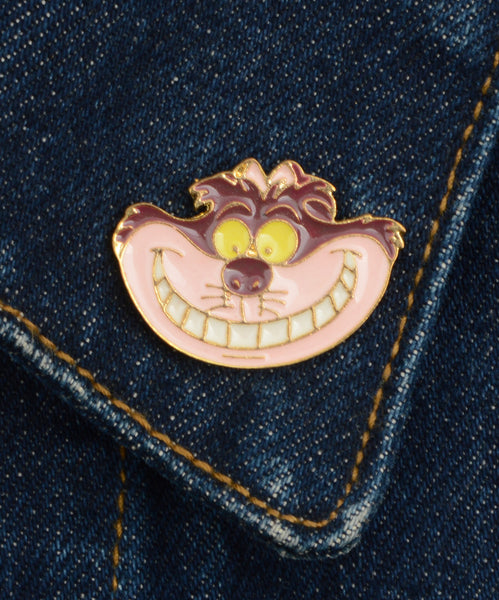 Kitűző - Cheshire Cat
