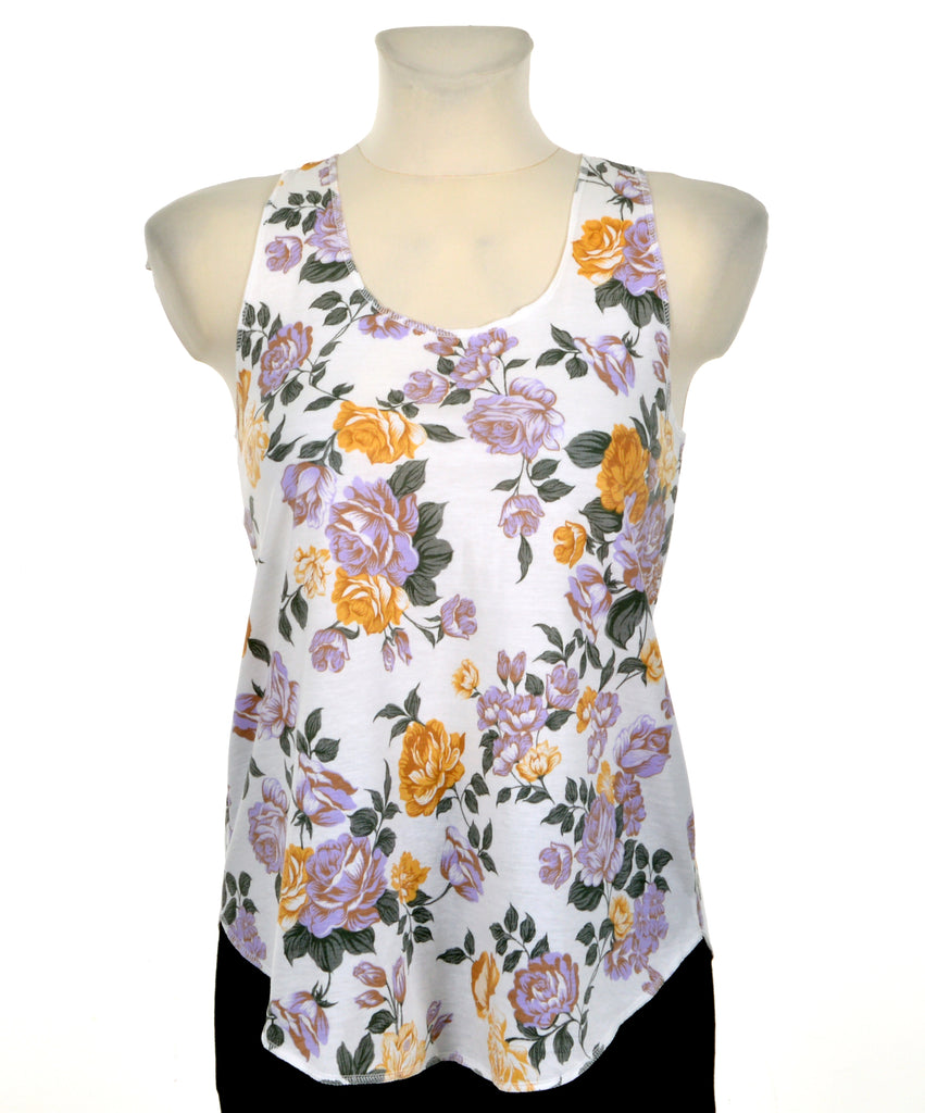 9a11573103 Casual tanktop - Floral I – Vintage & Contemporary Clothing ...