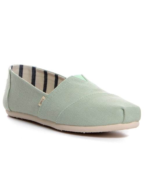 TOMS Classic - Mint Heritage Canvas