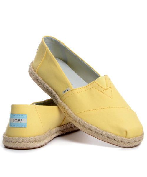 TOMS Classic - Plant Dyed Yellow cipő