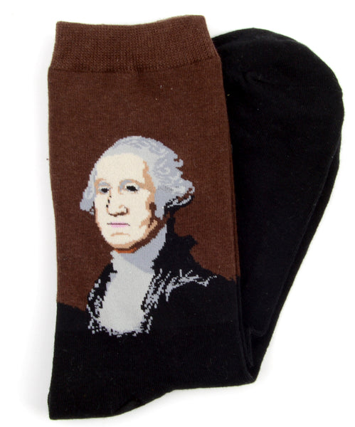 George Washington mintás zokni