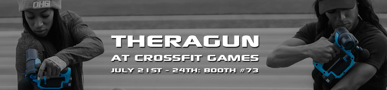 TheraGun at Crossfit Games