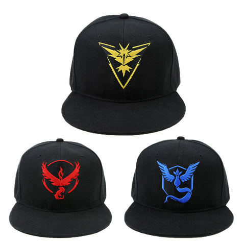 Pokemon Go Team Snapback Hat