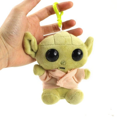 Star Wars The Mandalorian Baby Yoda Keychain Plush