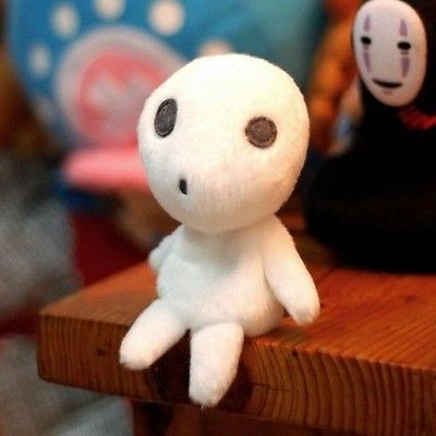 Princess Mononoke Kodama Tree Spirit Plush
