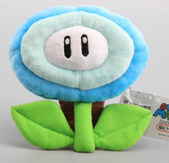 "7"" Ice Flower Super Mario Bros Plush - Plushie Paradise - Plush"