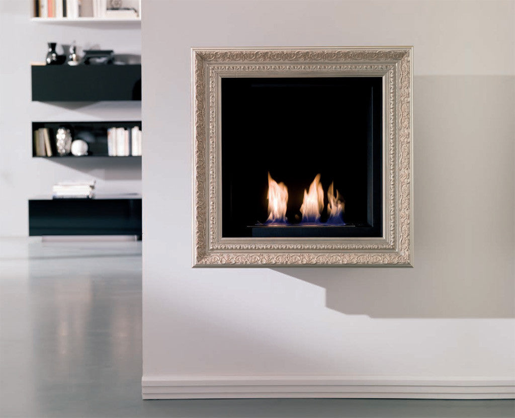 Ethanol Fireplace Design Ideas: Work it with White