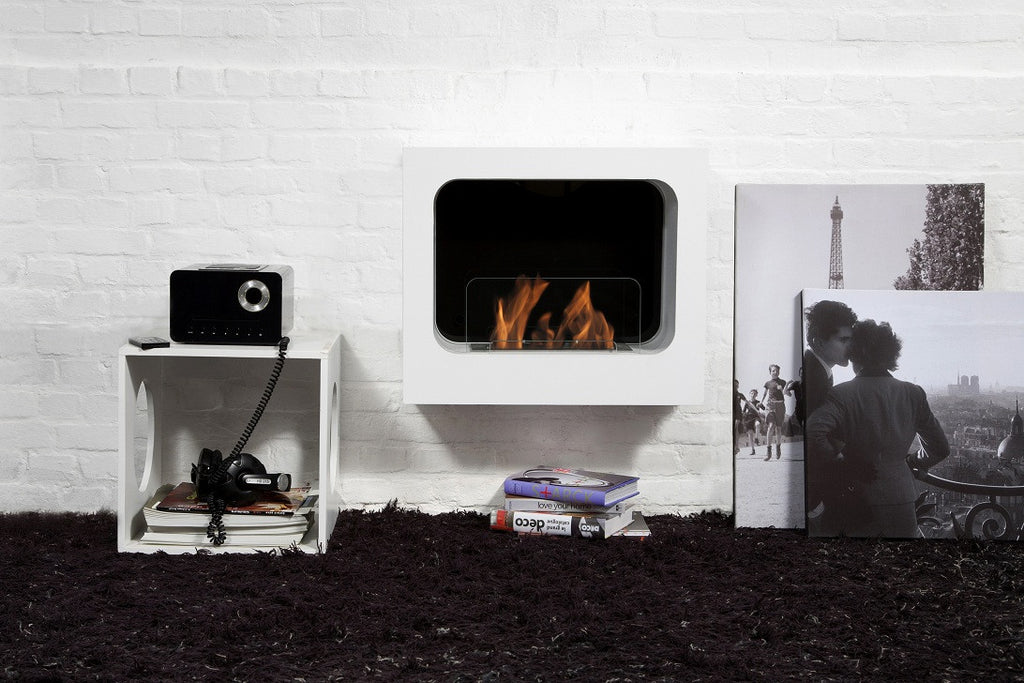 Ethanol Fireplace and Minimalist Interiors