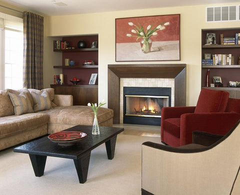 Create a Focal Wall in Your Living Room