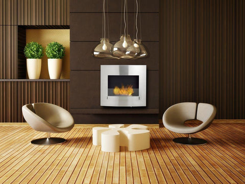 Wynn Eco Feu Wall hung wall fireplace