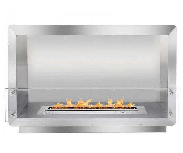 "Ignis 39.5"" Wide One-Sided Ethanol Burning Smart Firebox"