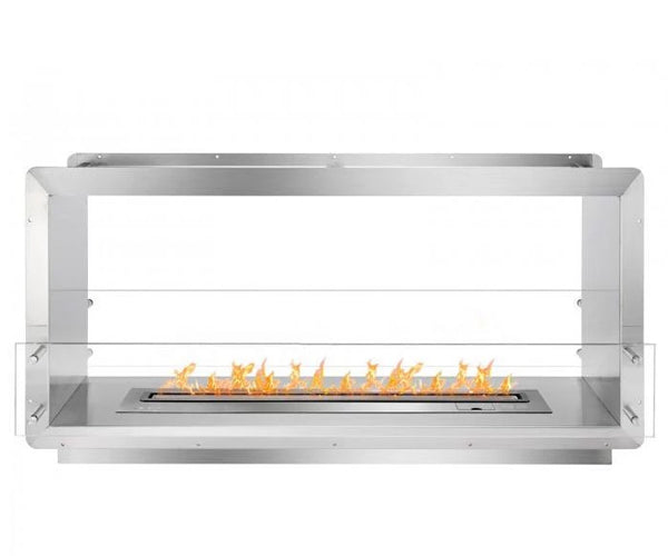 "Ignis 52"" Wide Double-Sided Ethanol Burning Smart Firebox"