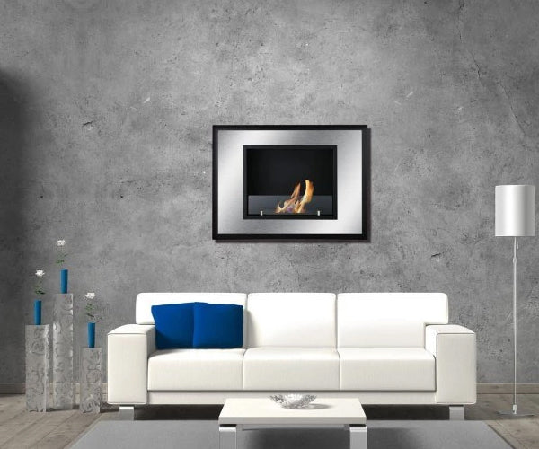 Ignis Bellezza Mini Recessed Bio Ethanol Fireplace
