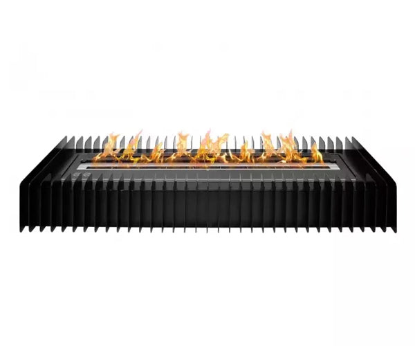 Ignis EBG3600 Ethanol Fireplace Grate with Black Burner