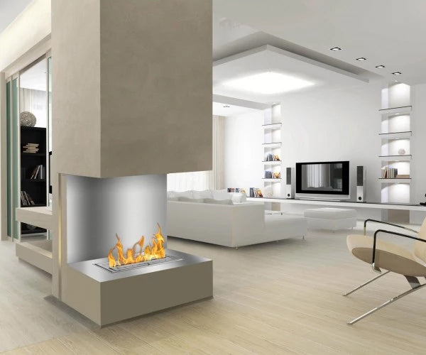 Ignis FB3600-C-Shaped Ethanol Fireplace Insert
