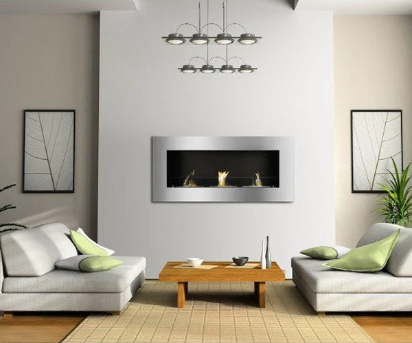 Ignis Optimum Recessed Bio Ethanol Fireplace