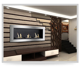 Recessed Fireplaces